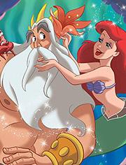 Dad teaches Ariel a fucking lesson