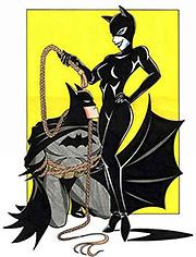 Batman and Batwoman having wild sex