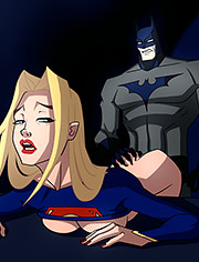 Supergirl turns her back on horny Batman