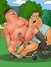 Peter and Chris terrorize every dick in the neighborhood