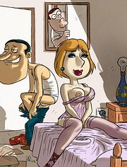 Horny cheating wife Loise Griffin