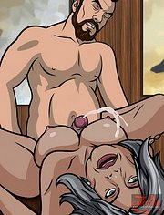 Malory cum covered by Krieger