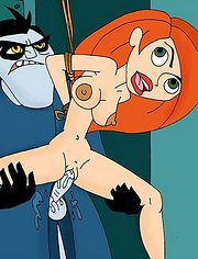 Kim Possible is punished