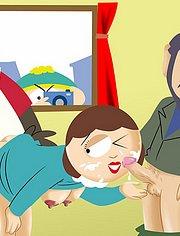 Double penetration with Liane Cartman