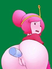 Princess Bubblegum and the dildo