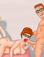 Peggy Hills gets double penetration