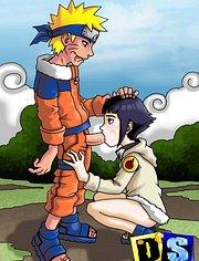 Blowjob by Hinata for Naruto