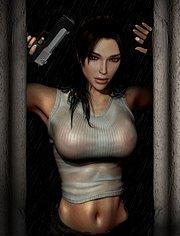 Amazing Lara Croft starring naked in Lara Croft: Tomb Raider movie!