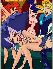 The Winx orgy is on the way