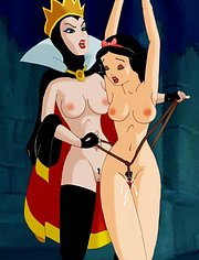 Snowwhite tied and dominated