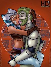 Obi Wan Kenobi fucks hot Ahsoka Tano